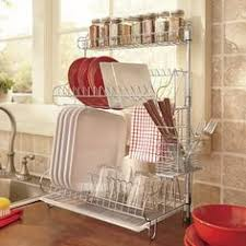 Closetmaid Dish Drainer Roll Up Over Sink Drying Rack Dish Drying Racks Sinks And Dishes