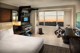 hilton launches revolutionary new guest room five feet to fitness