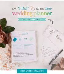 bridal planner wedding planners stylish erin condren wedding planner