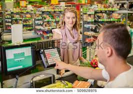 Supermarket Cash Desk Supermarket Cashier Stock Images Royalty Free Images U0026 Vectors