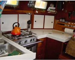 Sailboat Interior Ideas Galley Tips