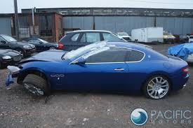 maserati granturismo blue rear bumper reinforcement bar blue 80308900 maserati granturismo