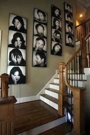 Super Cool Stair Wall Decor Staircase Decorating Ideas Traditional