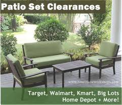 Discount Patio Sets Home Depot Clearance Patio Furniture Furniture Decoration Ideas