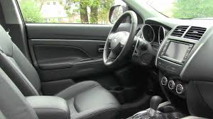 mitsubishi rvr interior 2012 mitsubishi asx gt review youtube