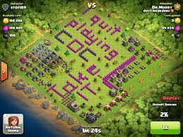 Clash Of Clans Maps Clash Of Clans Funny Base Designs Gamerizedtv