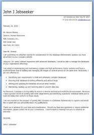 great cover letter for database administrator 14 for your doc