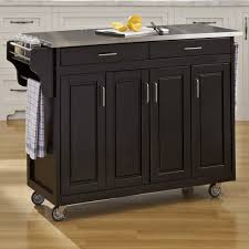 kitchen island stainless stainless steel kitchen islands carts you ll wayfair