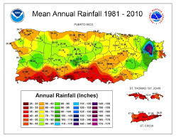 North America Precipitation Map by Reassessing Rainfall In The Luquillo Mountains Puerto Rico Local