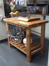 wooden kitchen islands rustic kitchen islands and carts foter
