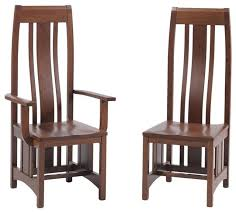 Mission Style Dining Room Furniture Amazing Mission Style Dining Chairs With Mission Dining Room