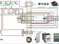 motor star delta starter wiring schematic wiring diagram simonand
