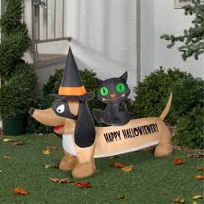 airblown dachshund halloween decoration walmart com