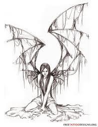 25 beautiful gothic fairy tattoo ideas on pinterest gothic