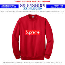 supreme sweatshirt many colors u0026 sizes free shipping u2013 sd