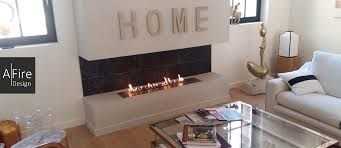 ethanol fireplaces for apartments and townhouses afire design