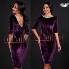 inpuff rochii rochii de seara online din catifea marsala negru rosu mov sau