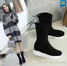 womens boots for flat 2018 winter shoes flat heel ankle boots casual warm