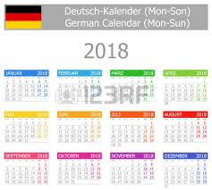 Kalender 2018 Germany 73 Kalender Cliparts Stock Vector And Royalty Free