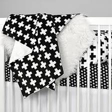 olli lime black and white crib bedding modern baby bedding