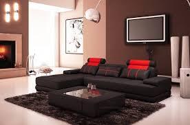canapé angle noir canapé d angle en cuir italien 5 places elixa noir et