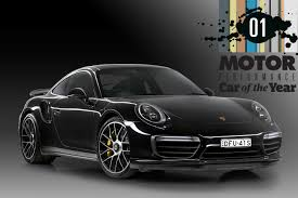 porsche car 2017 porsche 911 turbo s 2017 performance car of the year winner motor