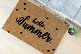 personalized housewarming gifts door mats gift ideas personalized door mats summer
