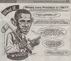 Pearl Harbor Meme - what if obama was president in 1941 after pearl harbor