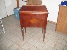 Vintage Singer Sewing Machine Cabinet Vintage Singer Sewing Machine In Cabinet Ebay