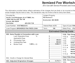 closing costs 101 understanding closing costs seattle fha