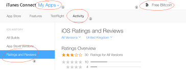 ios view reviews and ratings in itunes connect ask different