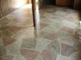 Painted Concrete Basement Floor by 63 Best Painted Cement Floors Images On Pinterest Cement Floors