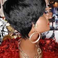salt and pepper pixie cut human hair wigs pepper curl girl salt pepper mix afro kinky curly crochet wig flip