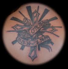 for unique memorial tattoos tattoos memorial cross