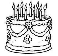birthday cake without candles clipart black and white best cake 2017
