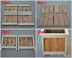 Easy Way To Build A Toy Box by 25 Best Pallet Boxes Ideas On Pinterest Rustic Storage Boxes