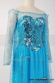 frozen snow queen elsa fancy dress costume cosplay frozen