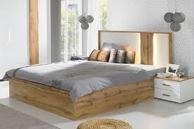 Schlafzimmer Komplett Mit Lattenrost Und Matratze Schlafzimmer Wood Mit Altholz Look Möbel Für Dich Online Shop