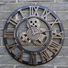 Large Wall Clocks by Big Wall Clocks Love This Pallet Clockfound My Next Diy Project
