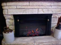 Fireplace Insert Electric How To Install An Electric Fireplace Insert 6 Installation For