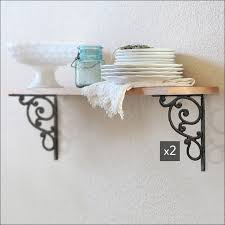 furniture awesome wooden shelf brackets wood scroll shelf