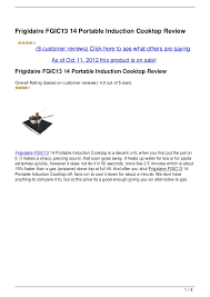 Portable Induction Cooktops Reviews Frigidaire Fgic13 14 Portable Induction Cooktop Review 1 728 Jpg Cb U003d1349926203