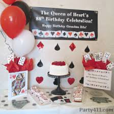 21st Party Decorations Casino Theme Birthday Party Ideas Daily Party Dish