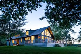 a classical designer u0027s modern house in maine the new york