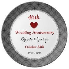 wedding anniversary plates custom wedding anniversary porcelain plates