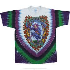 grateful dead seasons of the dead tie dye t shirt tee liquid blue