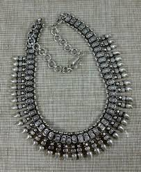 silver necklace from india images Silver india necklace vintage traditional tribal india necklace jpg