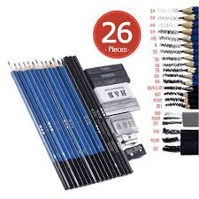aliexpress com buy 26pcs professional drawing sketch pencil kit