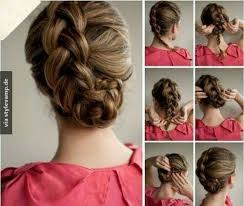 Hochsteckfrisurenen D Ne Haar Anleitung by 91 Besten Frisuren Bilder Auf Haarknoten Haare