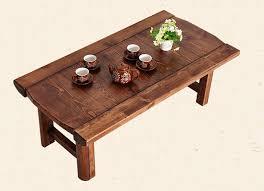 aliexpress com buy vintage wood table foldable legs rectangle